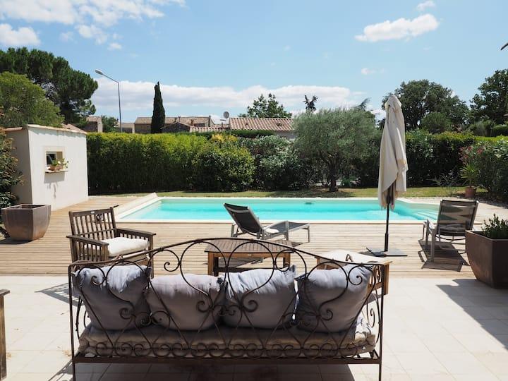 Belle villa confortable avec 4 ch & grande piscine