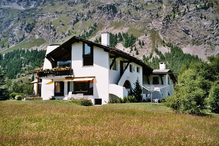 "Lovely 1-bedroom apartment ""Margna"" - Sils im Engadin/Segl"