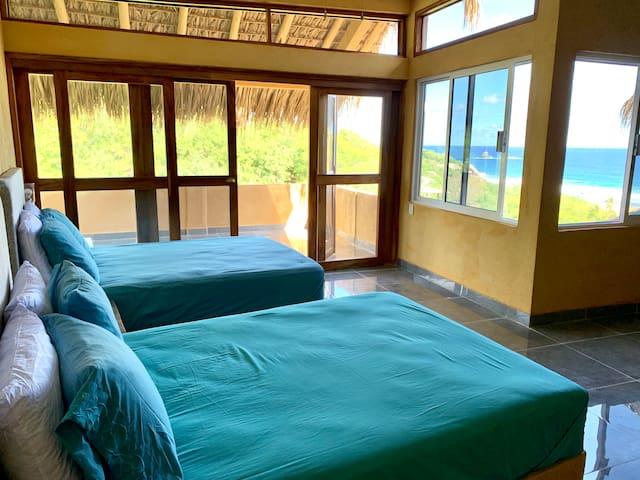2 camas tamaño matrimonial