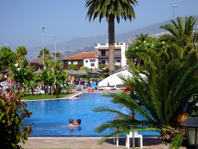 Beautiful Studio with Views + Wifi - Puerto de la Cruz - Byt