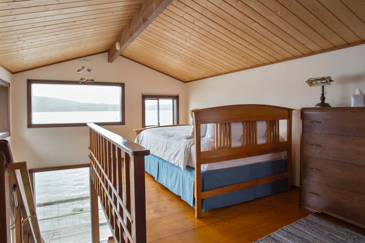 Upstairs Bed with Water Views