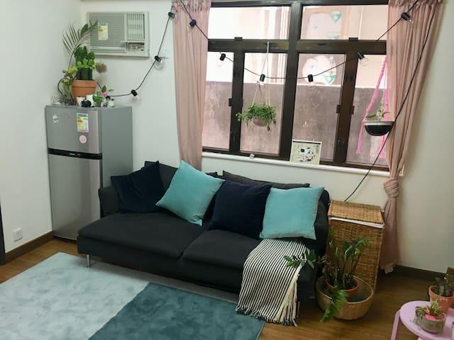 Bright Single room in Sai Ying Pun