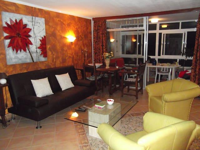 Ferienwohnung Teneriffa direkt am Atlantik - Los Realejos - Apartamento