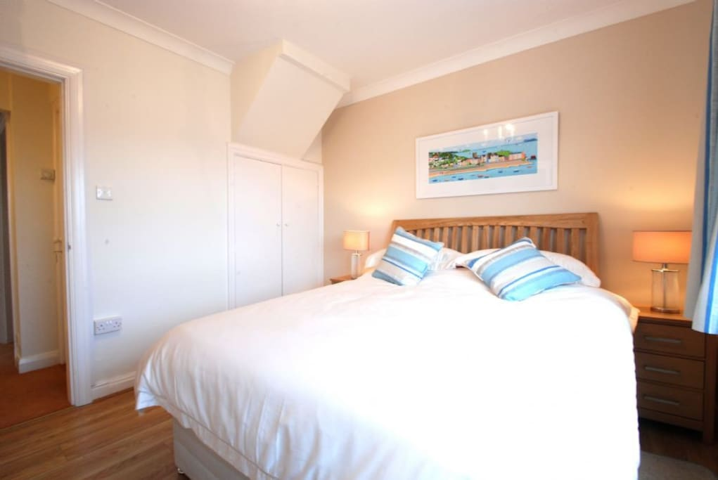 The Master Bedroom at Sea Haven Cottage, Conwy