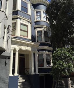 Cozy Victorian, Hip Alamo Sq Area!