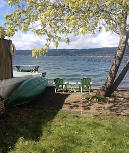 Peaceful Hood Canal Get-a-Way - Tahuya - Cabana