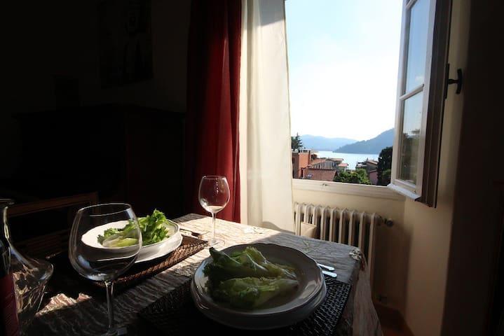 Apt Mozart, lake View sleeps 6 - Torno - Ev