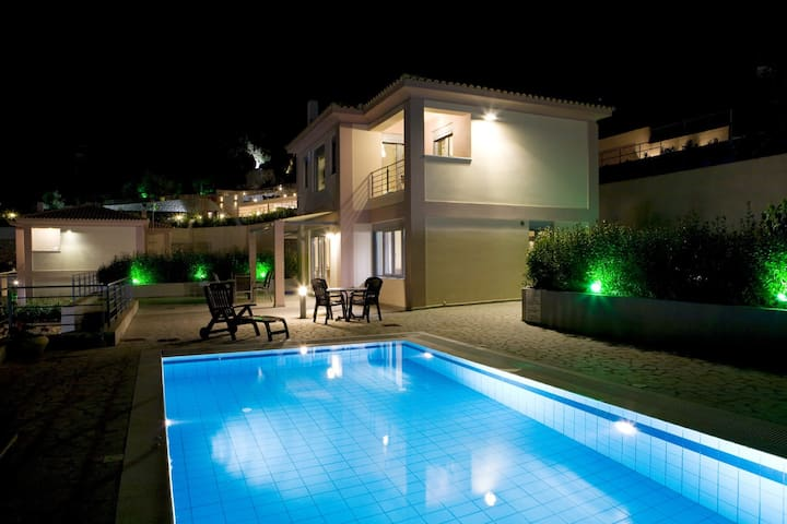 See Lefkas Luxury Villa with pool 6 - Ligia - วิลล่า