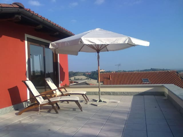 La casa sulla collina - Pavarolo - Vila