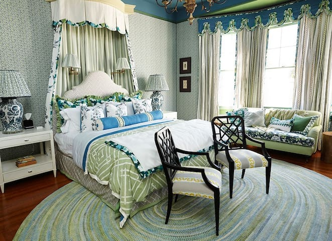 Myrtle Room by Madcap Cottage at Pandora's Manor