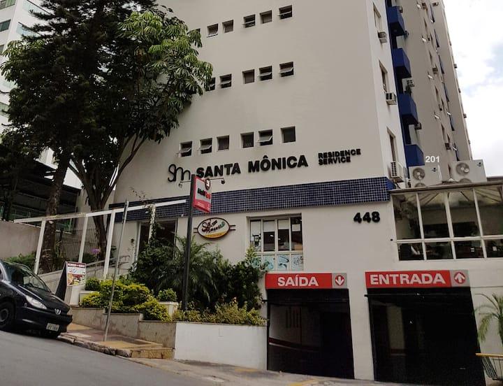 Flat mobiliado próximo à Av. Paulista / MASP