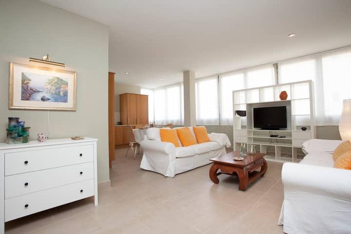 Comfortable beach apartment.