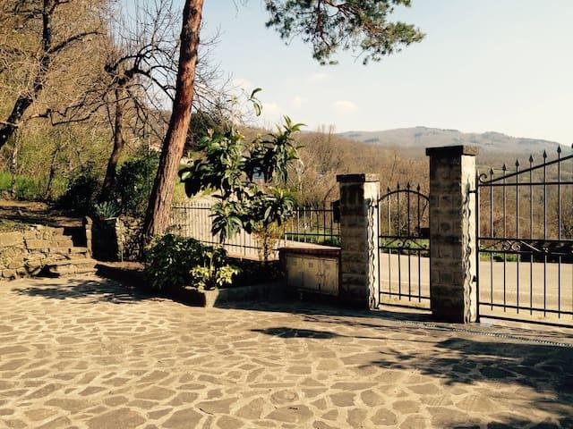 Splendida casa tra Bibbiena e La Verna. - Bibbiena Arezzo - Wohnung