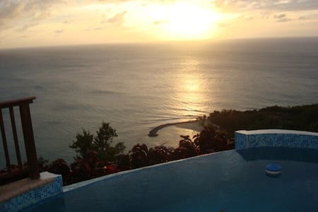 Luxury 3 Bdr Estate Villa w/ Pool - Castries City - Vila