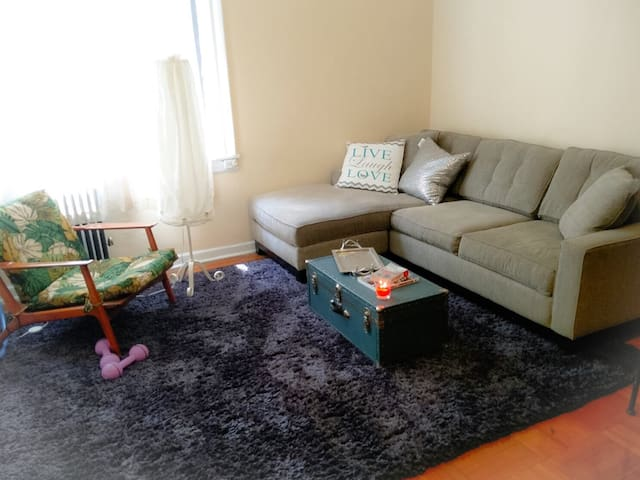 Beautiful 1BR at Prospect Park - Brooklyn - Byt