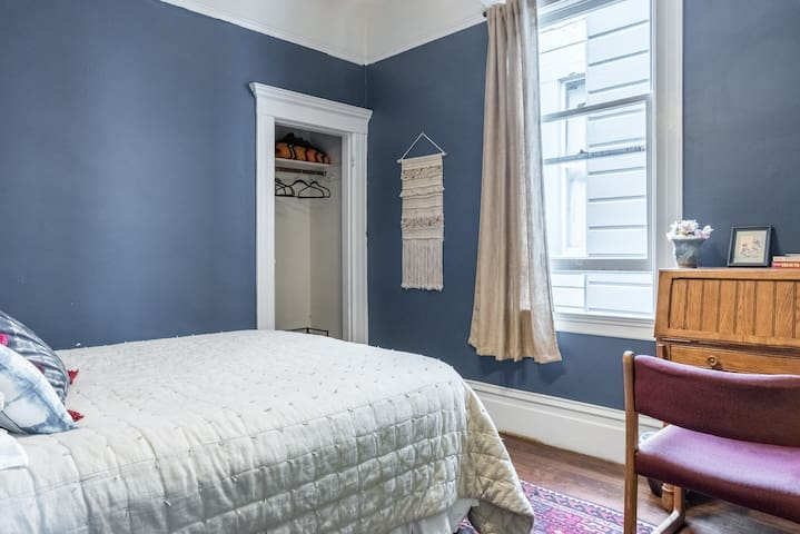 Calming Blue Room near the Wharf - San Francisco - Apartemen