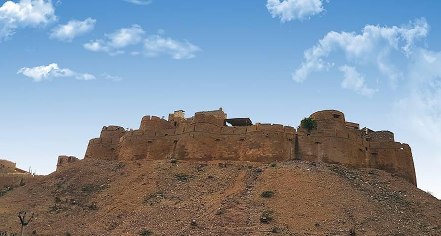 Real Desert Man's House