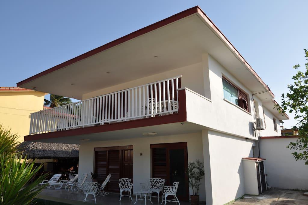Casa Alba a Varadero Cuba