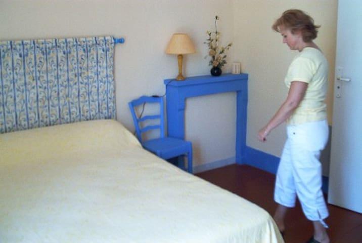 Gite  2/4 pers, vue sur Loire. - Marseilles les Aubigny - Bed & Breakfast