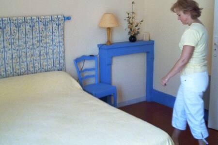 SUITE JAUNE Gite  2/4 pers, vue sur Loire. - Marseilles les Aubigny - Bed & Breakfast