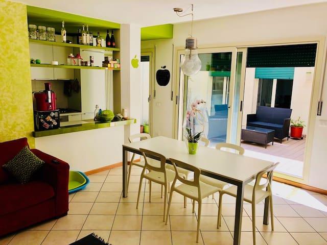 Luminoso appartamento a due passi dal centro