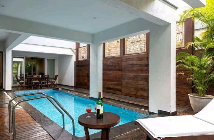 Solace-Luxury 3Br With A Pvt Pool,Near Thalassa