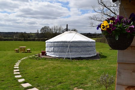 Gold Acre Yurts glamping site - Yurt