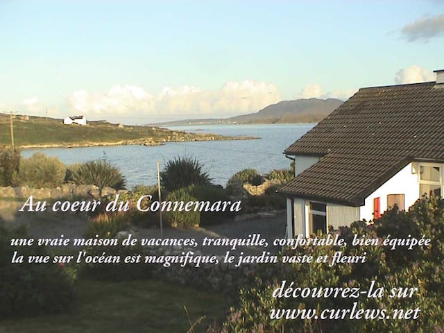 Cottage en bord de mer avec saplage - Cashel - Huis
