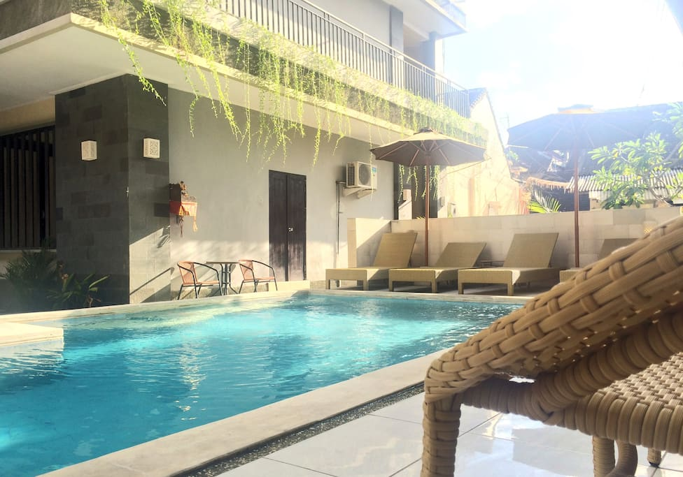 Our Cocktail Swimming Pool is right outside your door. Great to refresh in.