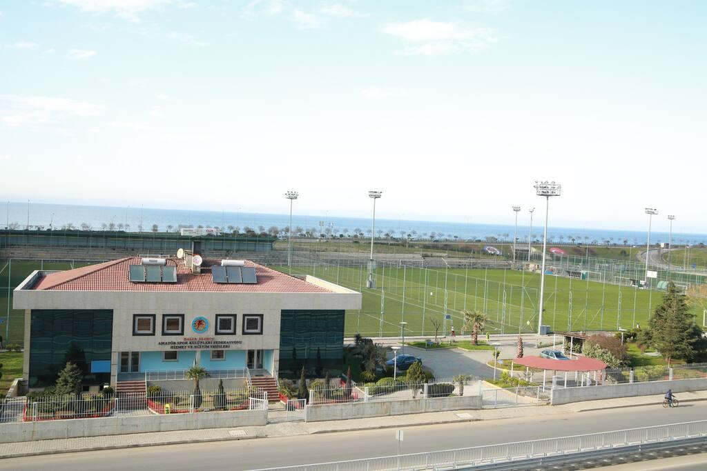 We are opposite to HALUK ULUSOY FOOTBALL ACADEMY (Haluk Ulusoy Tesisleri)