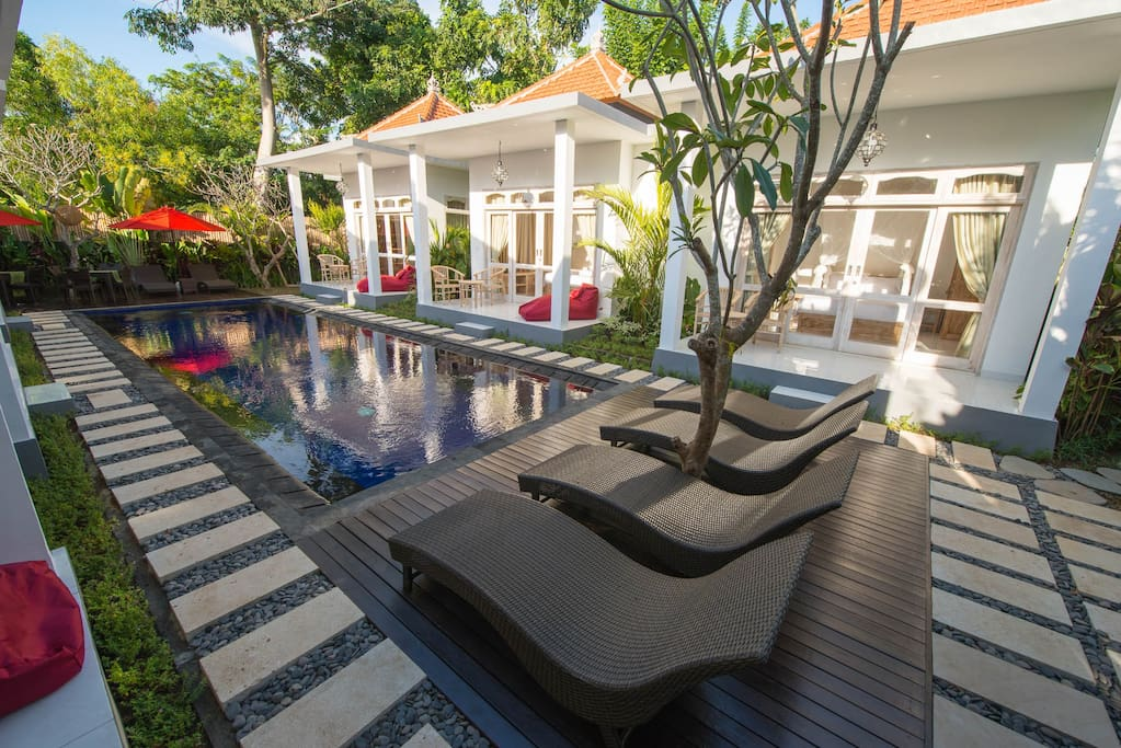 Spacious 6 bedroom villa near Jimbaran Beach, Bali