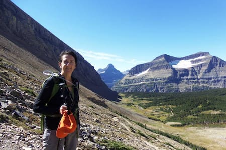 Panoramic Views of Glacier National Park - Babb