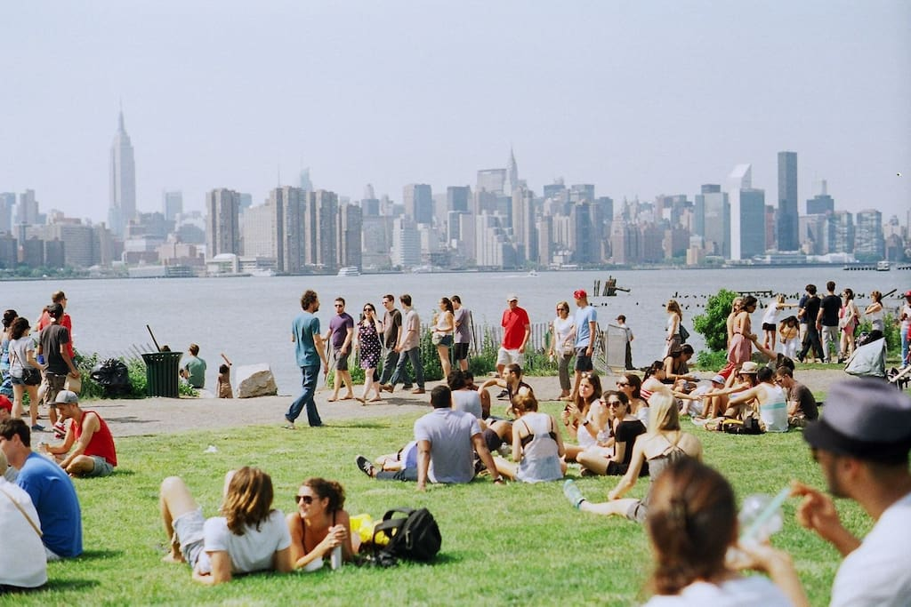 Just a few minutes walk from the apartment, enjoy the view at the East River Park!