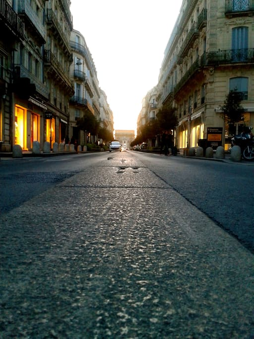 Rue Foch, coeur de ville