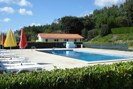 6 apartments with large pool and panoramic views - Vila Nova de Poiares