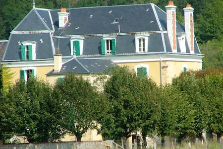 Grande maison à la campagne    - Givry - House