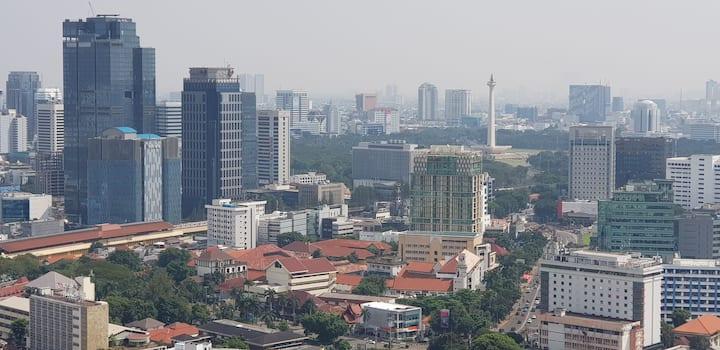 Perfect apartment and free WIFI @Menteng, Jakarta.