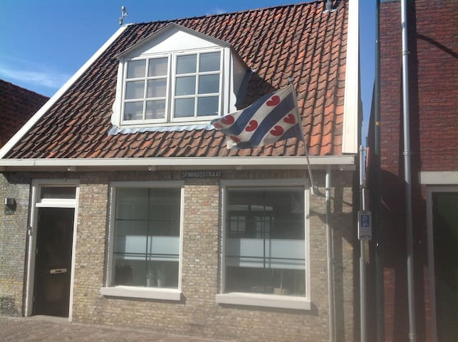 City center house with nice garden - Harlingen - Hus