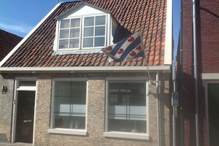 City center house with nice garden - Harlingen
