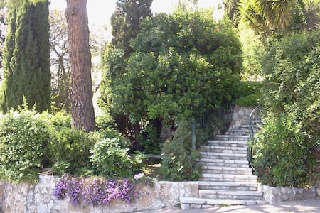 Scenic terrace on the Mediterranean - Saint-Jeannet - Apartament