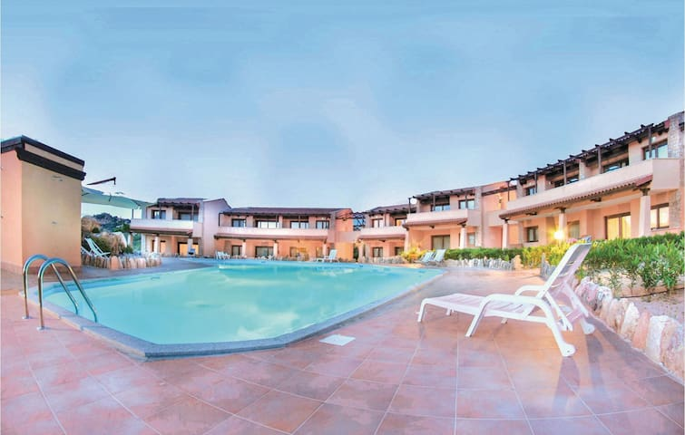 Holiday apartment with 1 bedroom on 56m² in Trinita´d´Agultu OT