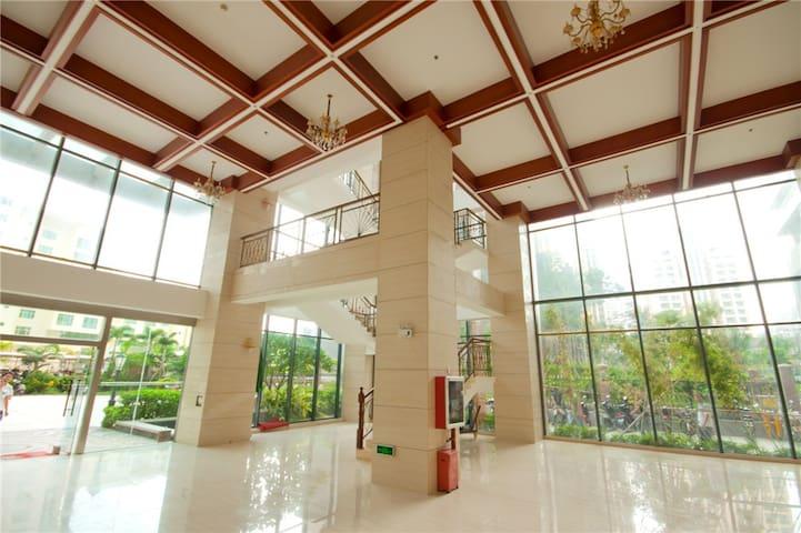 大东海两室一厅精装公寓,离沙滩100米(金茂海景花园) - Sanya - Huoneisto