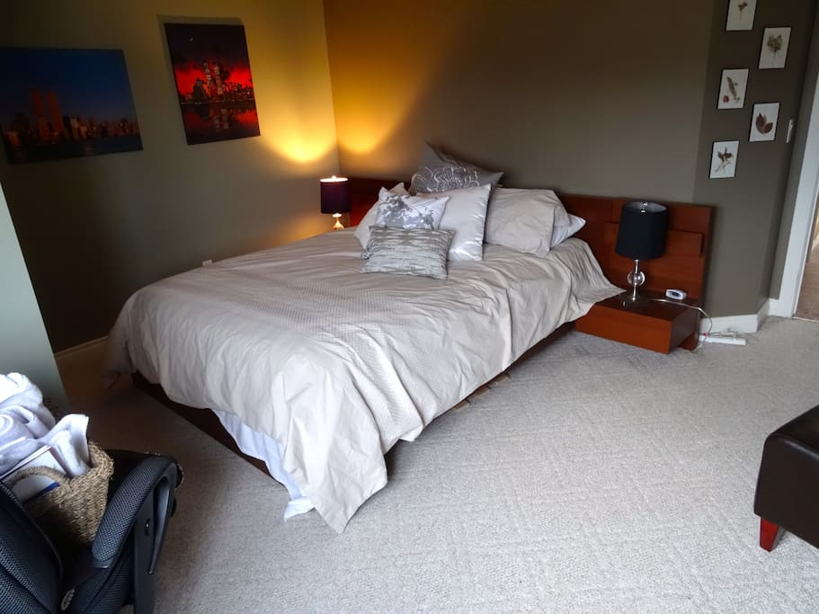 Bedroom 1 - This cozy room includes 2 6-drawer chests , country views, a large double closet.   Main Floor