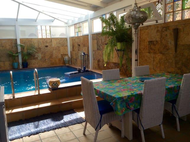 Villa LaPalma,B&B,Pool&Wifi+Seaview - Corralejo - Hus