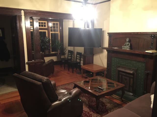 Vintage Downtown home, near Convention Cntr + Cptl - Salt Lake City - Hus