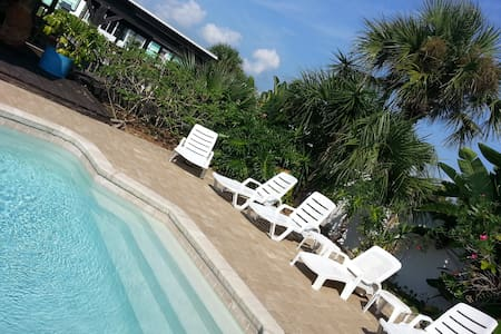 Private, Pool, Boat Dock, Fenced yd - Flagler Beach - Ház
