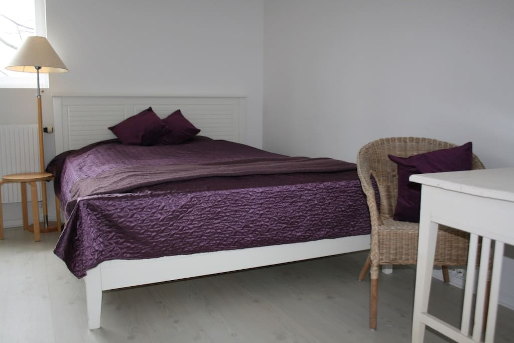 Bed for one or two persons, 160 cm.