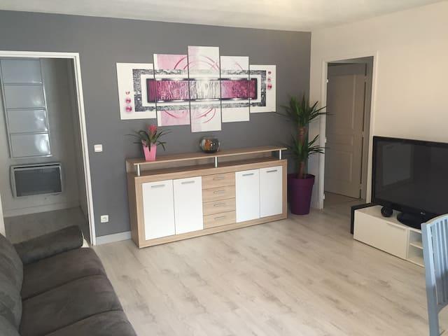 Appartement 65m² Thonon-les-Bains centre - Thonon-les-Bains - Apartment
