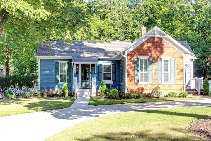 The Cottage on Willow ~ Fayetteville, Arkansas