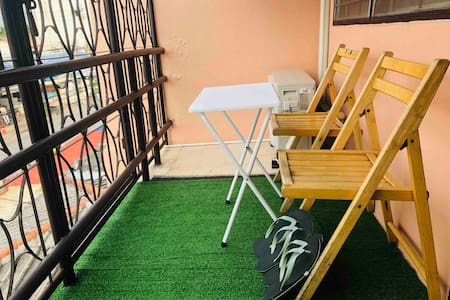 Donmuang place2/Stair/Balcony/Private/plenty food
